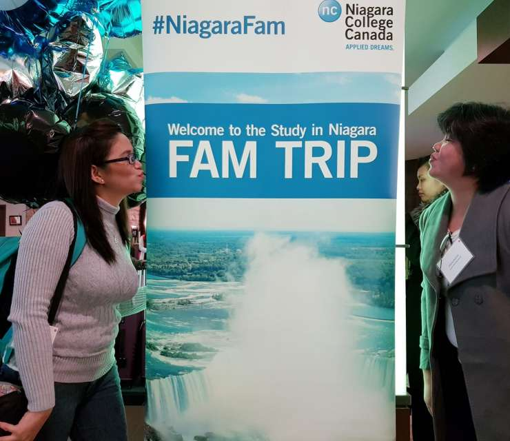 IN PHOTOS: Get to know our Canadian partner school, Niagara College