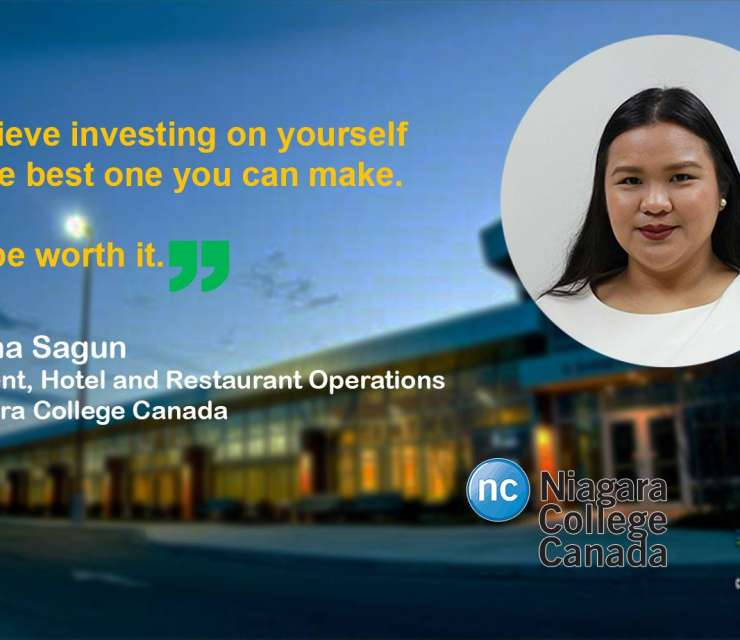 Our students abroad | Trisha Sagun, Niagara College Canada