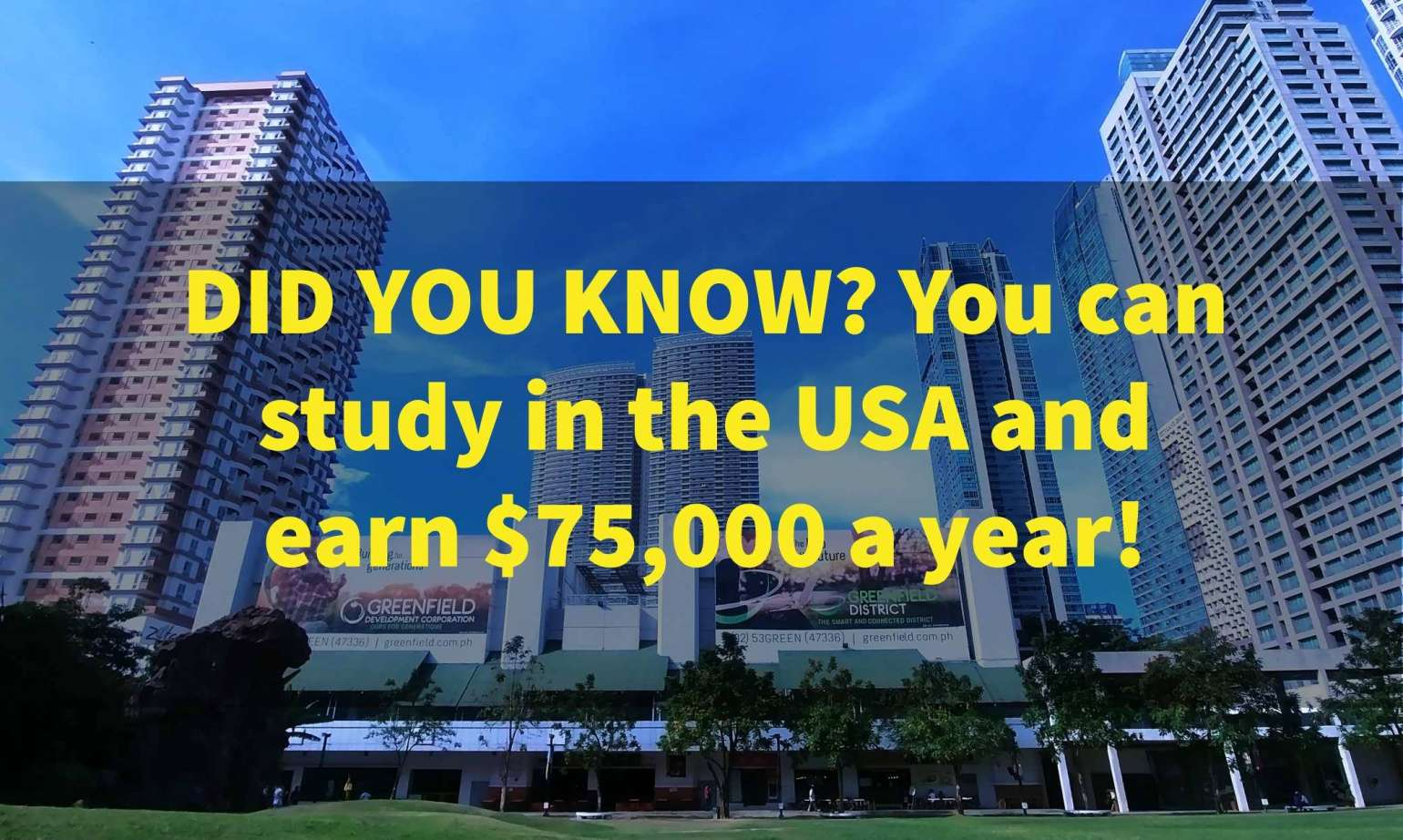How much do international students earn in the USA?