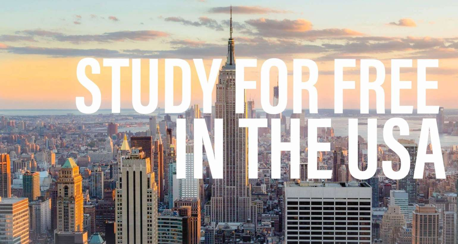 Available scholarships for int'l students in the USA